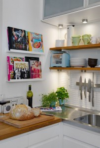 kitchen library & shelve display