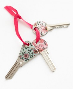 Identify Keys with Washi Tape