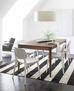 Oslo dining table | Crate & Barrel