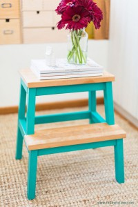 DIY Washi Tape Stool | Fellow Fellow