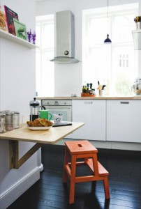 Scandinavian style - variations on IKEA's  BEKVÄM step stool