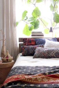 Ethnic bedroom