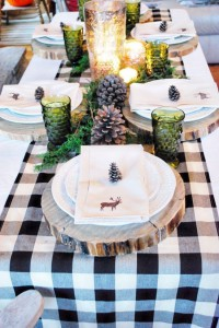 Christmas party tablescape inspiration