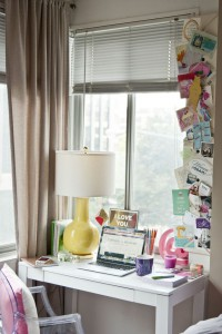 Cupcakes for Breakfast: Lulu & Georgia Audrey Lamp // office // desk // Nikki Rappaport